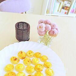 机/花のある風景/3時のおやつ/キャンドルのインテリア実例 - 2014-11-27 15:50:37