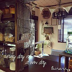 キッチン/reihanamiyaちゃんの六角形♡/キッチン棚DIY/キッチンカウンターDIY/キッチンカウンター...などのインテリア実例 - 2015-10-08 12:17:16