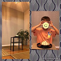 初めての十五夜/こどもの作品/ステレオスペルマム/部屋全体のインテリア実例 - 2021-09-22 12:51:45