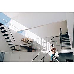 部屋全体/建築家と建てる家/シンプルインテリア/シンプルな暮らし/子どもと暮らす...などのインテリア実例 - 2019-03-19 16:45:49