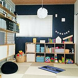 ベッド周り/セリア/IKEA/クリーンテックス/こどもと暮らす...などのインテリア実例 - 2018-05-07 18:43:09