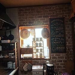 キッチン/壁紙シート/セリア/ダイソー♡/雑貨屋さん...などのインテリア実例 - 2021-05-07 15:05:44