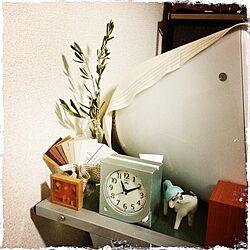 ベッド周り/植物/ドライフラワー/ウマ/オリーブの木...などのインテリア実例 - 2013-09-20 23:11:40