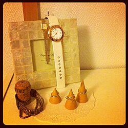 棚/時計/指輪のインテリア実例 - 2012-07-12 22:47:06
