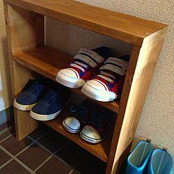 玄関/入り口/DIY/靴棚のインテリア実例 - 2013-06-02 15:56:41