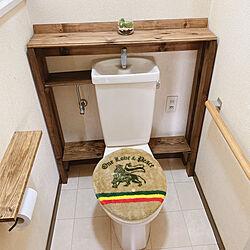 DIY/団地/賃貸/端材/狭いトイレ...などのインテリア実例 - 2020-05-05 16:45:47