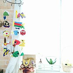 壁/天井/ハンドメイド/木目込み兜/こどもの日/鯉のぼり...などのインテリア実例 - 2019-04-30 09:17:58