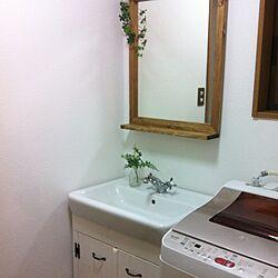 バス/トイレ/洗面所リフォーム/IKEA/DIY/手作り...などのインテリア実例 - 2014-09-21 22:21:35