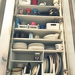スキット皿スタンド/食器棚/キッチンのインテリア実例 - 2020-08-02 10:44:45