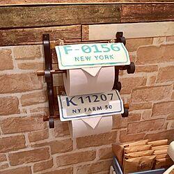 バス/トイレ/アイアンフック/スモーキーブルー/スモーキーグリーン/アクリル絵の具でペイント...などのインテリア実例 - 2017-02-22 04:19:50