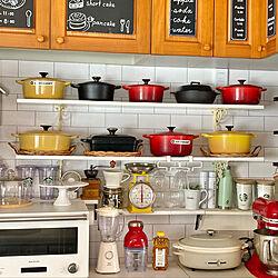 キッチン/カフェ風/土鍋/暮らし/KINTO...などのインテリア実例 - 2021-03-21 17:47:42