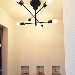 玄関/入り口/アストル/ASTRE/シーリングライト/照明...などのインテリア実例 - 2019-01-13 12:52:37