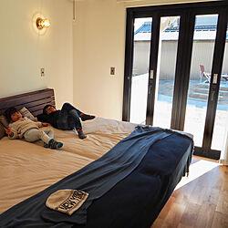 ベッド周り/サーファーズハウス/ビーチハウス/オープンウィン/マリンランプ...などのインテリア実例 - 2019-02-20 12:48:51