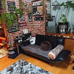 壁/天井/リメイク/セリア/ダイソー♡/グリーン×雑貨...などのインテリア実例 - 2020-11-25 23:14:04