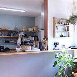 キッチン/観葉植物/せいろ/かご/テンポドロップ...などのインテリア実例 - 2019-02-02 20:25:51