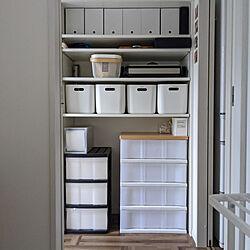 棚/パントリー/パントリー収納/IKEA/こどもと暮らす...などのインテリア実例 - 2020-07-27 10:22:43