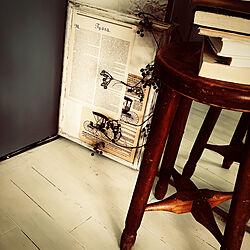 床ペンキ塗り/コンセント隠し/フォトフレームリメイク/マンション/いなざうるす屋さん...などのインテリア実例 - 2020-09-04 16:56:12