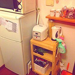 キッチン/一人暮らし/IKEA/マグカップ/無印良品...などのインテリア実例 - 2014-02-03 23:42:05
