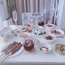 3連休/オーロラグラス/ワイングラス/カクテルグラス/キャンドゥ...などのインテリア実例 - 2021-07-21 21:55:01