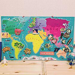 棚/MAP/マグネット/旅行/お土産のインテリア実例 - 2016-09-04 17:11:37