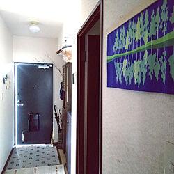 玄関/入り口/アートのある暮らし/RC九州支部/日々の暮らし/北欧...などのインテリア実例 - 2021-09-27 12:27:48