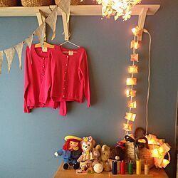 壁/天井/DIY/ペイント/子ども部屋  /IKEA...などのインテリア実例 - 2014-09-04 01:11:53