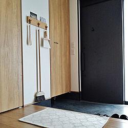 玄関/入り口/吊り下げ収納/収納/無印良品/壁に付けられる家具...などのインテリア実例 - 2021-08-14 15:17:37