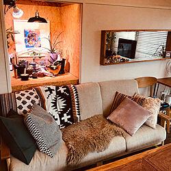 塊根植物/観葉植物/IKEA/DIY/リビングのインテリア実例 - 2019-05-01 16:04:47