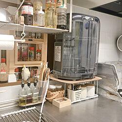 カインズホーム/2×4 ディアウォール/ダイソー/DIY/キッチンのインテリア実例 - 2020-06-21 22:15:07