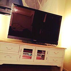 リビング/一人暮らし/IKEA/チュールカーテン/IKEAライト...などのインテリア実例 - 2014-09-04 21:36:13