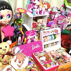おもちゃ/雑貨/TOY/mtマスキングテープ/マイリトルポニー...などのインテリア実例 - 2014-01-09 11:25:00