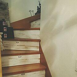 階段/ダイソー/DIY/ZARA HOME/セリア...などのインテリア実例 - 2016-04-22 14:25:39