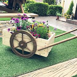 プランター/DIY/植物/庭/カフェ風...などのインテリア実例 - 2019-04-30 20:06:35