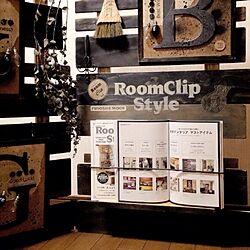 RoomClipStyle/DIY/100均/ステンシル/パーテーション...などのインテリア実例 - 2014-09-03 22:12:47