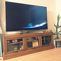 リビング/journal standard Furniture/65インチ/テレビボード/カリフォルニアスタイル...などのインテリア実例 - 2019-01-14 01:33:25