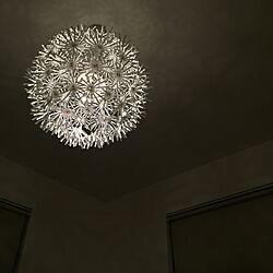ベッド周り/寝室の照明/寝室/IKEA 照明/IKEAのインテリア実例 - 2016-01-12 23:16:02