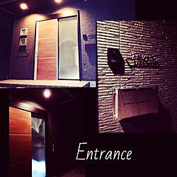 玄関/入り口/2014.7.18/玄関/新築/入り口...などのインテリア実例 - 2014-07-18 23:36:33