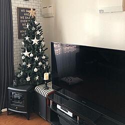 リビング/クリスマスツリー/休日/日常/お気に入り...などのインテリア実例 - 2018-12-16 18:26:12