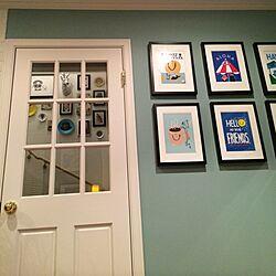 壁/天井/海外インテリアに憧れる/ブログやってます♡/HAWAIIを感じたい/アロハ部...などのインテリア実例 - 2014-07-16 19:28:40