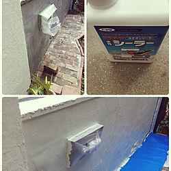 棚/塀のシーラー下地&塗装。/古いものが好き♡/いいね!ありがとうございます◡̈♥︎/猫ちゃんが大好き❤...などのインテリア実例 - 2018-12-09 20:20:07