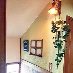 壁/天井/間接照明のある暮らし/アンティーク風/セルフリフォーム/セリアリメイク...などのインテリア実例 - 2019-07-30 13:40:05