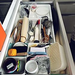 キッチン/調理器具収納/システムキッチン/整理収納のインテリア実例 - 2018-02-07 00:47:30