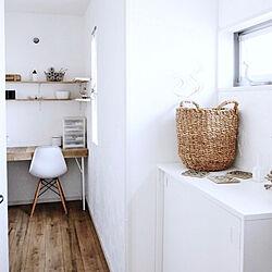 玄関/入り口/すっきり暮らす/IKEA/透明感/シンプル化...などのインテリア実例 - 2018-02-18 23:29:49