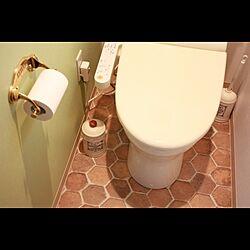 バス/トイレ/トイレ/トイレの壁/トイレの床のインテリア実例 - 2013-09-24 11:28:45