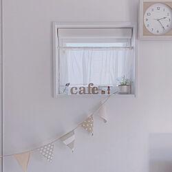 便乗してみる/平成最後のpic/時計/ガーランド/お気に入りの小窓...などのインテリア実例 - 2019-04-30 22:46:55