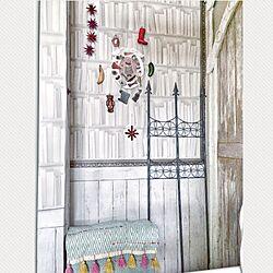 ベッド周り/飾るように暮らす/パンチのある物作りを目指す!/賃貸でも楽しく♪/Tse&Tse associees...などのインテリア実例 - 2017-06-07 11:17:39