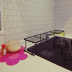 キッチン/プチDIY/100均/セリア/DIY...などのインテリア実例 - 2020-08-02 11:51:52