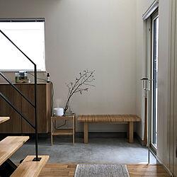 鉄骨階段/玄関/IKEA/シンプル/シンプルライフ...などのインテリア実例 - 2020-03-29 10:13:20
