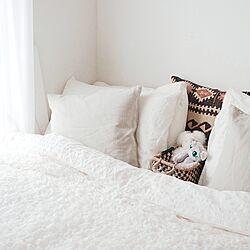 ベッド周り/ぬいぐるみ/IDEE/イケア/IKEA...などのインテリア実例 - 2016-10-12 09:47:58