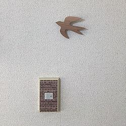 マスキングテープ/ナチュラルインテリア/壁面ディスプレイ/電気スイッチ/壁/天井のインテリア実例 - 2019-06-20 08:19:56
